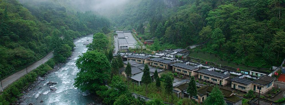 阿坝州-汶川县-卧龙镇 耿达镇-卧龙(中国大熊猫保护研究中心)国家级
