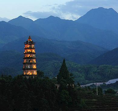 南平市-松溪县-湛卢山|奎光塔|风景区
