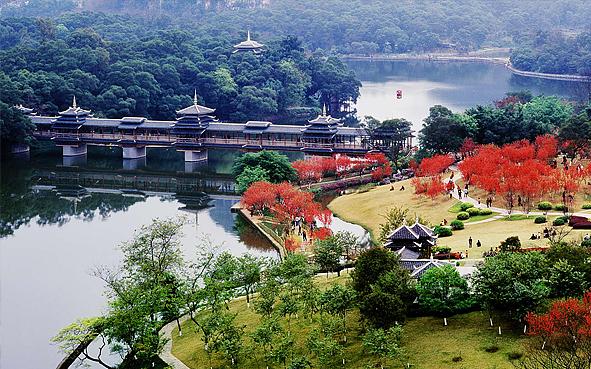 柳州市-鱼峰区-大龙潭风景区