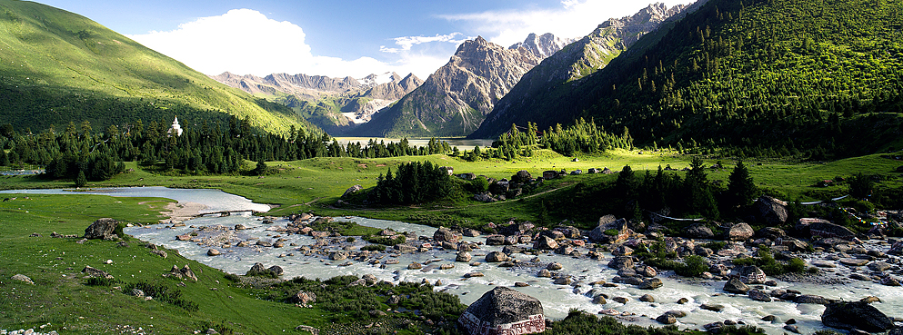 甘孜州-德格县-雀儿山/新路海风景区