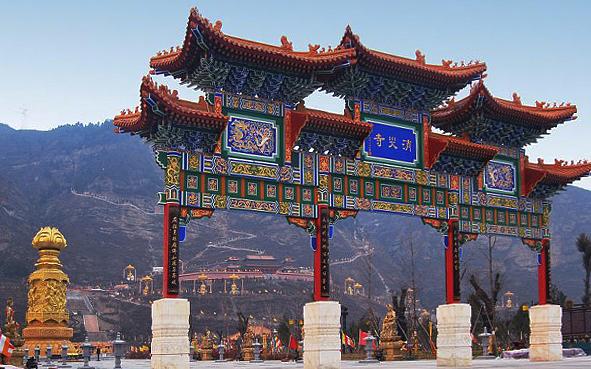 宝鸡市-凤县-嘉陵江|消灾寺|风景区