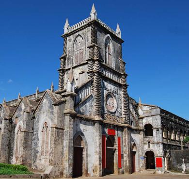 北海市-银海区-涠洲岛|天主教堂