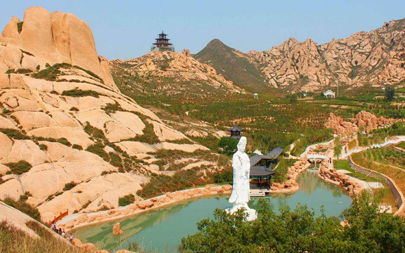 忻州市-原平市-天牙山风景区