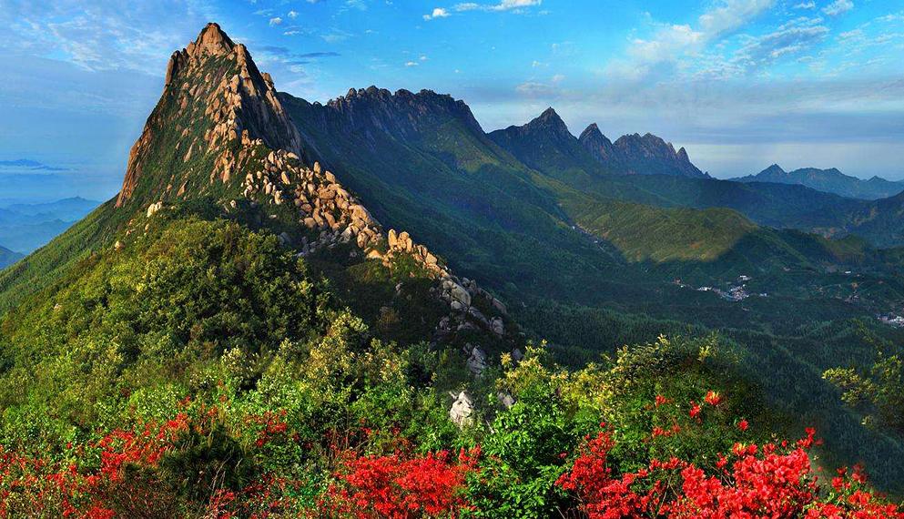 上饶市-上饶县-灵山国家风景名胜区