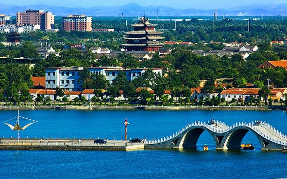 聊城市-东昌府区-聊城古城|中国名城|东昌湖风景区|江北水城