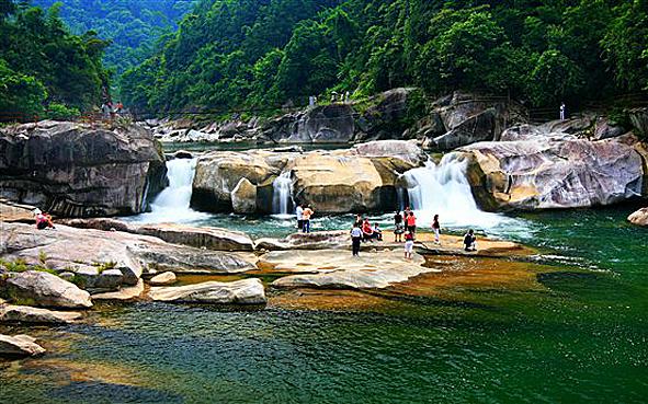 柳州市-融水县-龙宝大峡谷风景区