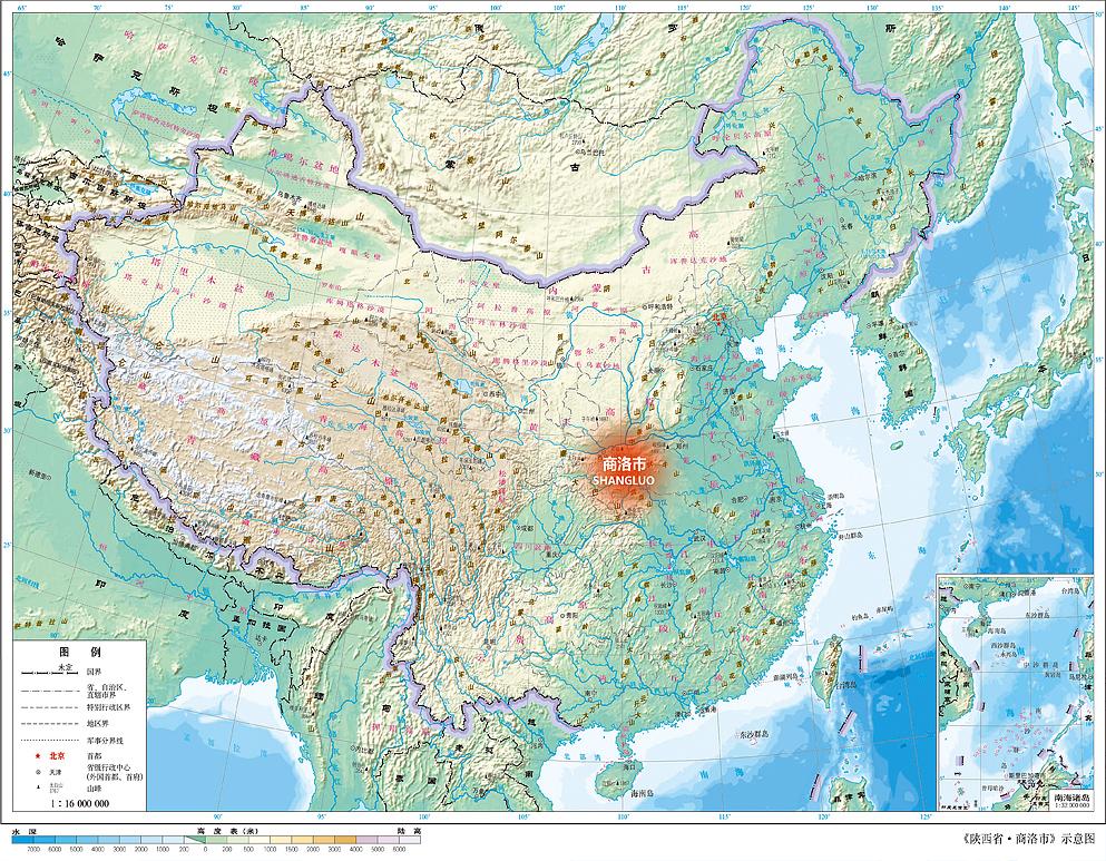 xx-trip-陕西省-商洛市-示意图