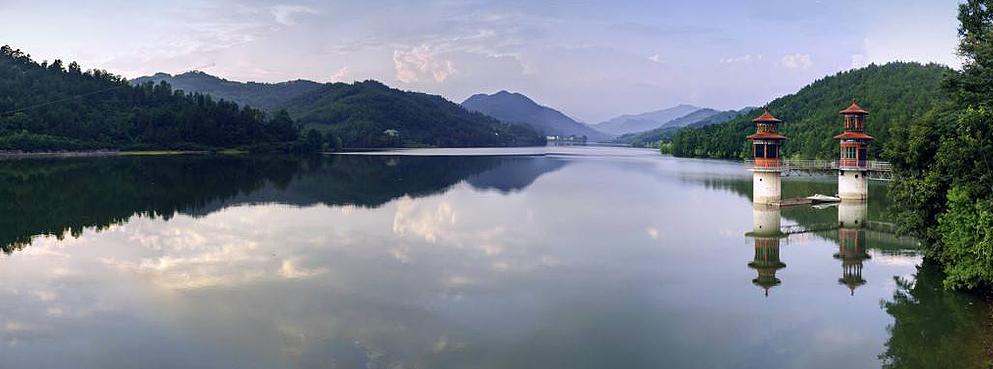 安康市-汉阴县-观音河水库风景区