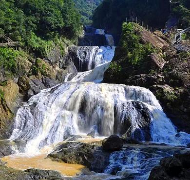 宁德市-周宁县-狮城镇-九龙漈|瀑布群|国家级风景名胜区