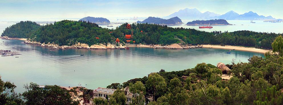 漳州市-东山县-铜陵镇-东门屿 塔屿 风景区