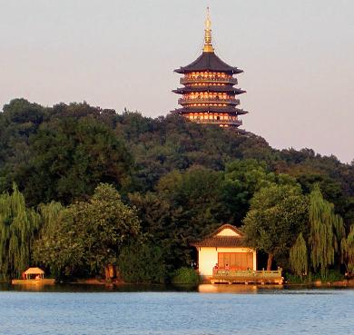 杭州市-西湖区-西湖|雷峰塔|南宋-清|雷峰夕照|风景区|4a