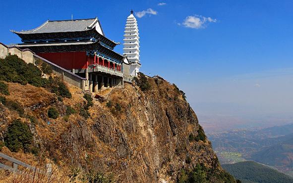 宾川县鸡足山风景区